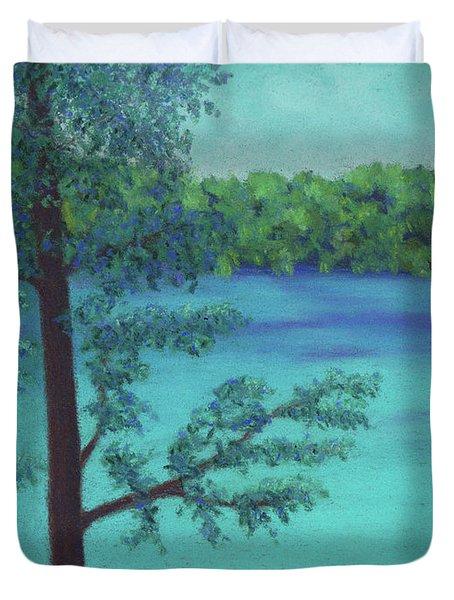 Thoreau's View Duvet Cover