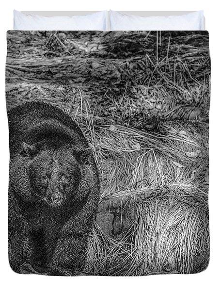 Thornton Creek Black Bear Duvet Cover