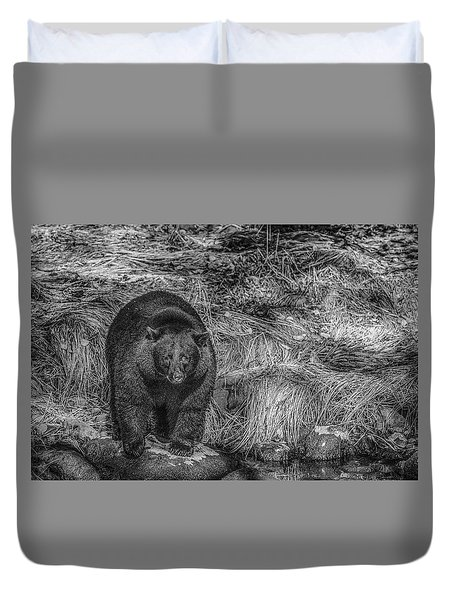 Thornton Creek Black Bear Duvet Cover