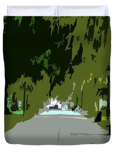 Thoroughfare Duvet Cover by David Lee Thompson