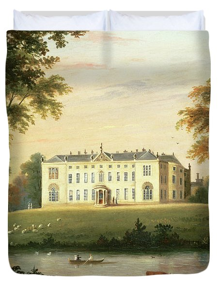 Thorp Perrow Near Snape In Yorkshire Duvet Cover by English School