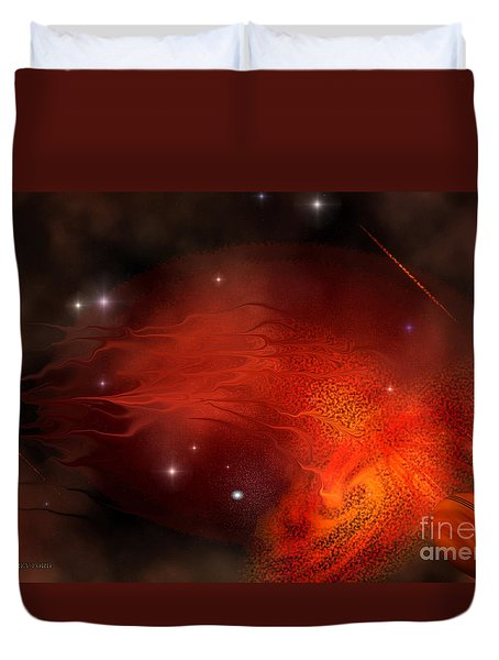 Thor's Gate Duvet Cover by Corey Ford