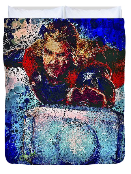 Thor's Hammer Duvet Cover