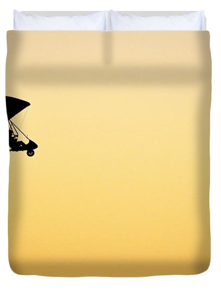 Those Magnificent Men In Their Flying Machines Duvet Cover