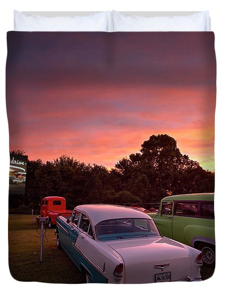 Those Summer Nights Duvet Cover