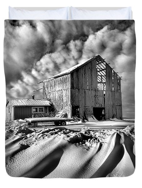 Duvet Cover featuring the photograph Those Were The Days by Phil Koch