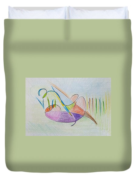 Thought Pad Series Page 2 Duvet Cover