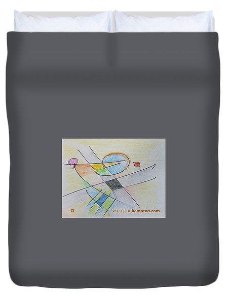 Thought Pad Series Page 4 Duvet Cover