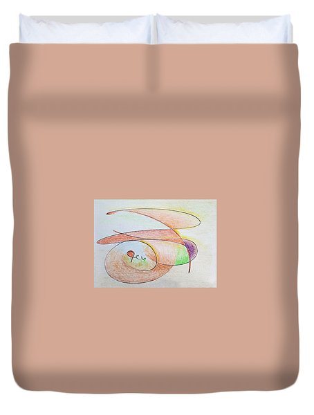 Thought Pad Series Page 6 Duvet Cover