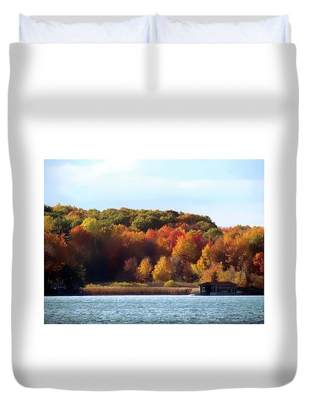 Thousand Island Color Duvet Cover