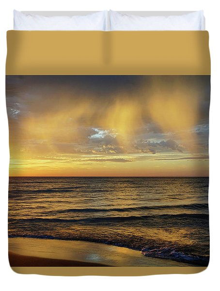 Three Angels Duvet Cover