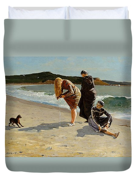 Three Bathers Duvet Cover