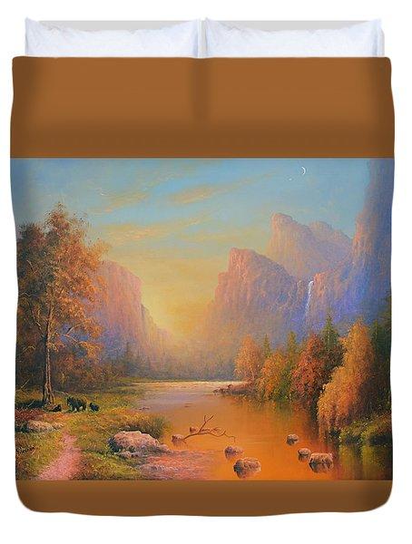 Yosemite National Park Duvet Cover by Joe Gilronan
