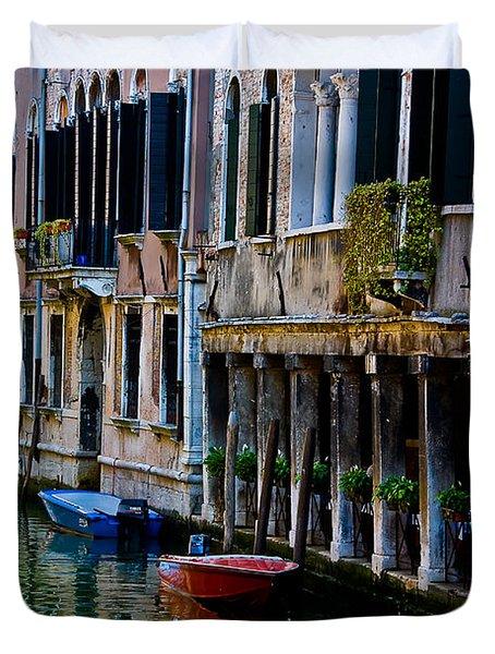 Three Boats Duvet Cover