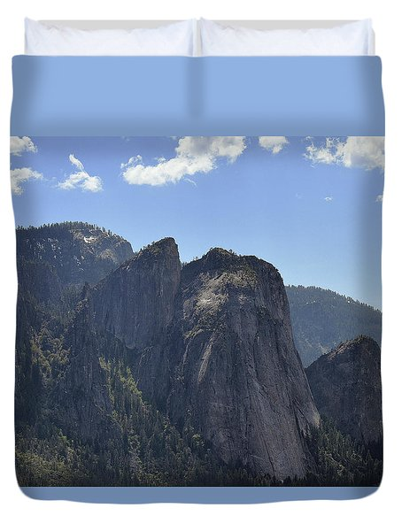 Three Brothers From Four Mile Trail Duvet Cover