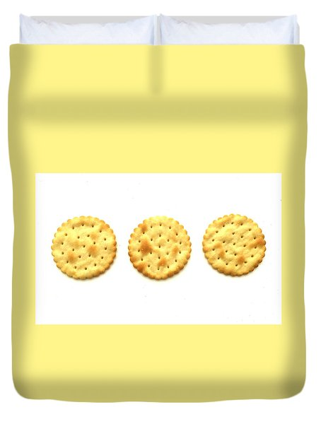 Three Crackers Duvet Cover