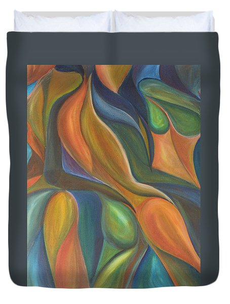 Three Dancers Smooth Duvet Cover