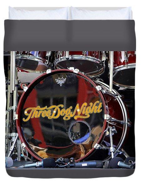 Three Dog Night Duvet Cover