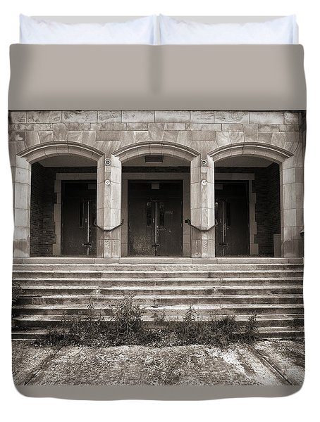Three Doors Duvet Cover