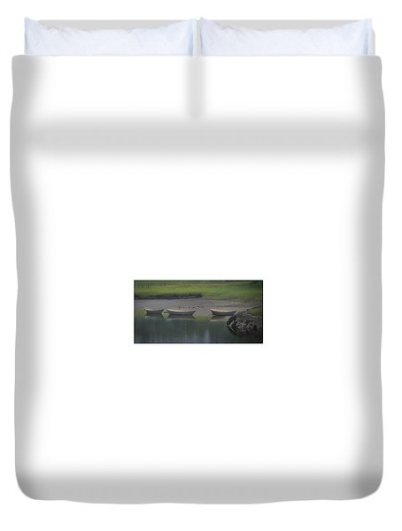 Three Dories Duvet Cover
