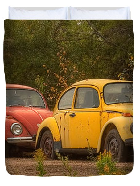 Three For The Road Duvet Cover