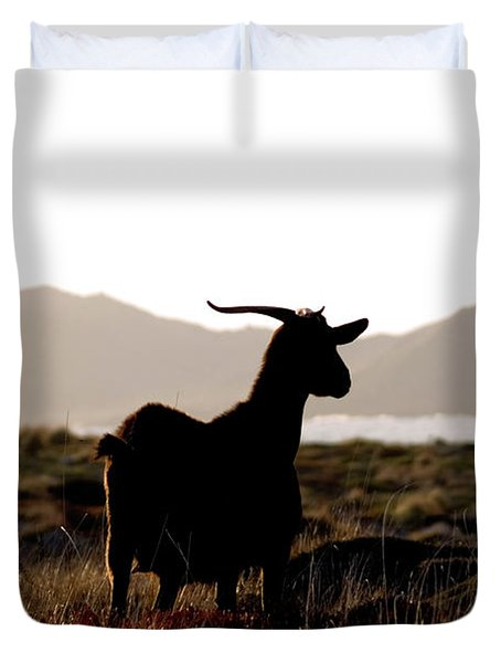 Three Goats Duvet Cover