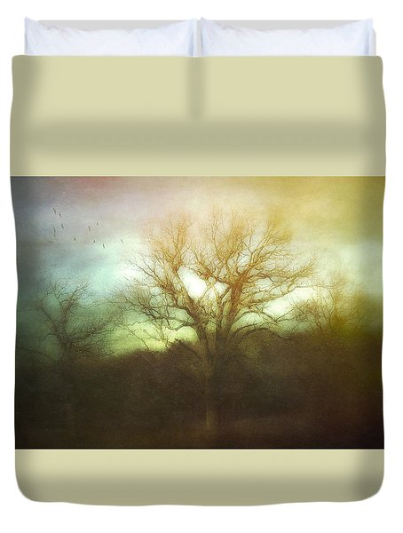 Three Is A Magic Number Duvet Cover