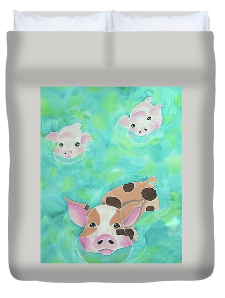 Three Little Pigs  Duvet Cover