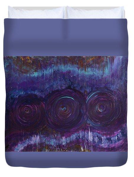 Three Mandalas Duvet Cover