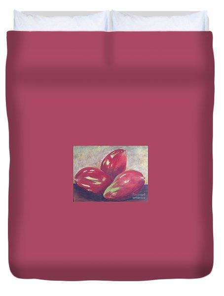 Three Mangos Duvet Cover