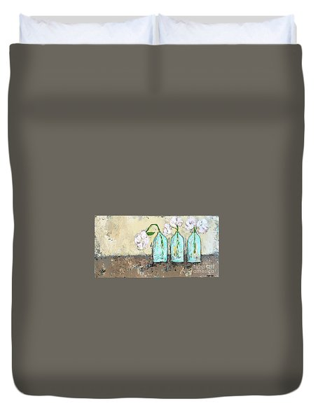 Three Of A Kind Duvet Cover