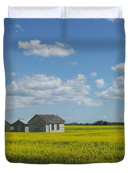 Duvet Cover featuring the photograph Three Of A Kind by Mary Mikawoz