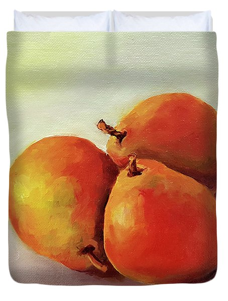 Three Pears Duvet Cover