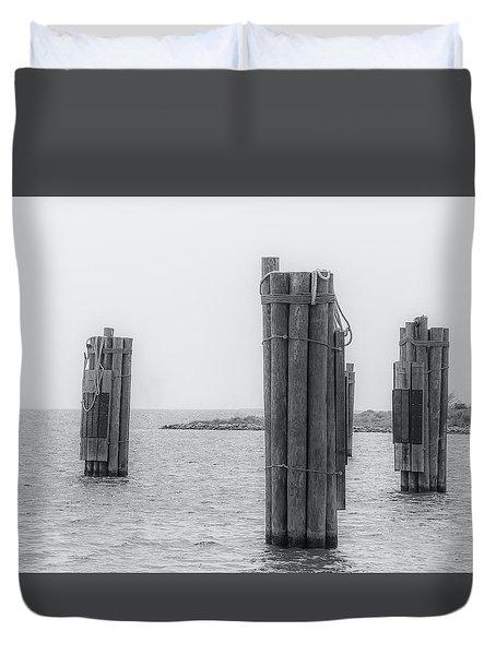 Three Pillars Duvet Cover