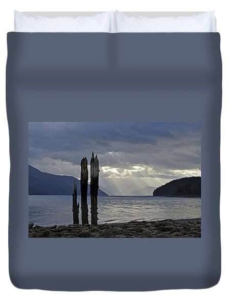 Three Remain Duvet Cover