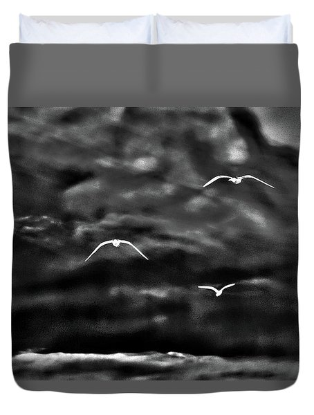 Three Seagulls Duvet Cover