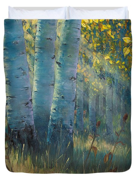 Three Sisters - Spirit Of The Forest Duvet Cover