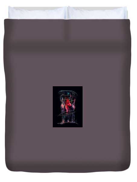 Three Together Duvet Cover by Jim Vance