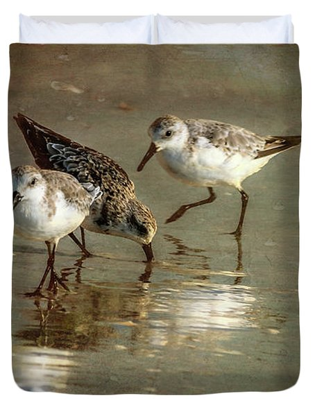 Three Together Duvet Cover