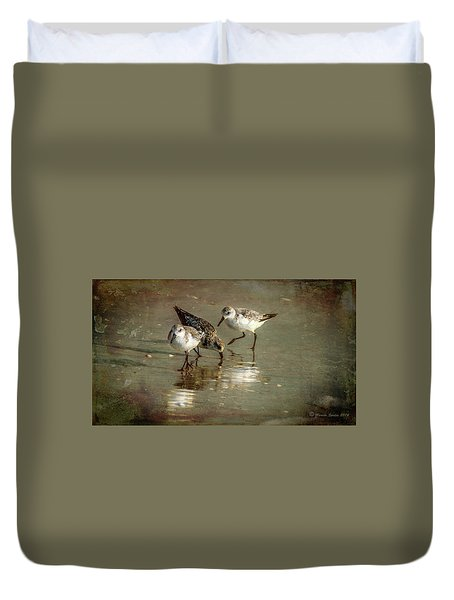 Three Together Duvet Cover by Marvin Spates