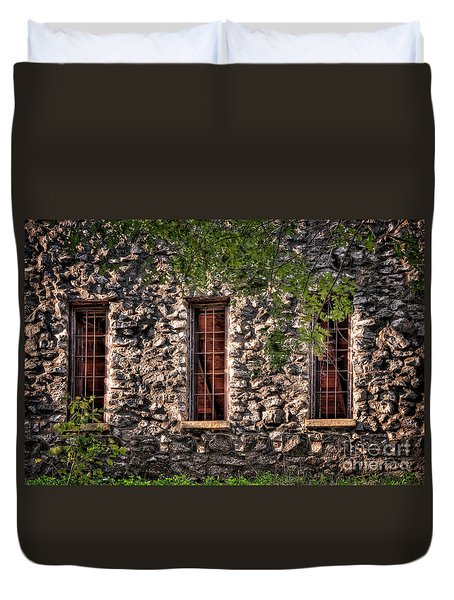 Three Windows Duvet Cover by Tamyra Ayles