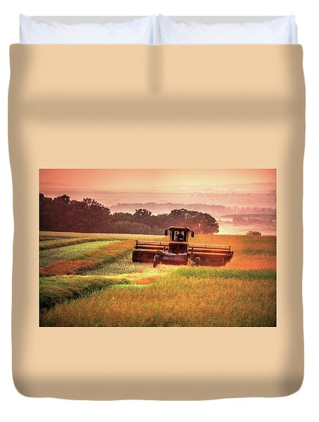 Swathing On The Hill Duvet Cover