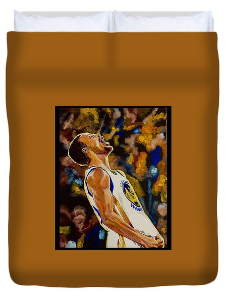 Thrill Of Victory Duvet Cover