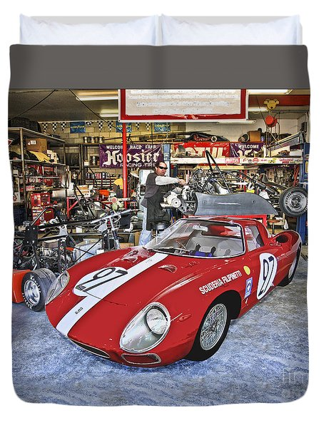 Throphy Car Duvet Cover