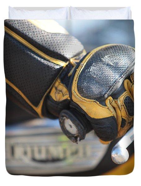 Throttle Hand Duvet Cover