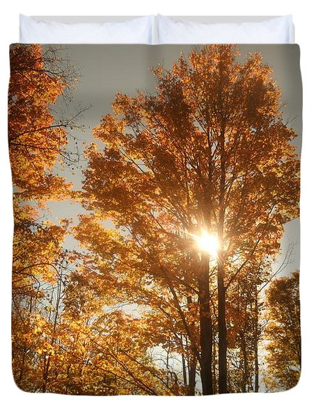 Through Sun Glasses Duvet Cover