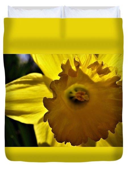 Through The Daffodil Duvet Cover