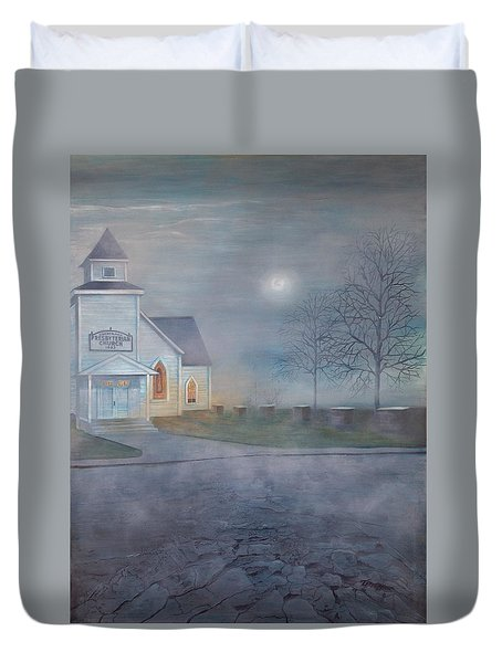 Through The Fog Duvet Cover