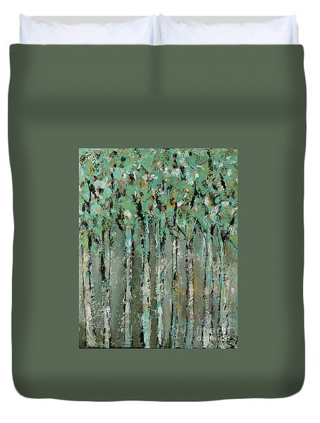 Through The Forest Duvet Cover