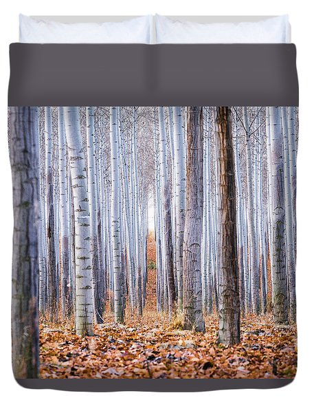 Through The Layers Duvet Cover